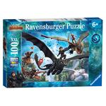 How to Train your Dragon 3, XXL 100pc Jigsaw Puzzle