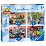 Disney Pixar Toy Story 4, 4 in a Box Jigsaw Puzzles
