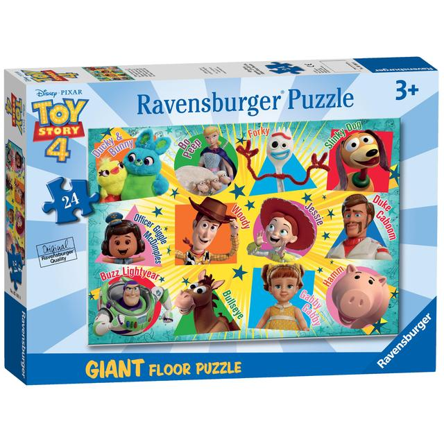 Disney Toy Story 4, 24pc Giant Floor Jigsaw Puzzle   Ocado