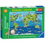 Animals of the World, 60pc Giant Floor Jigsaw Puzzle