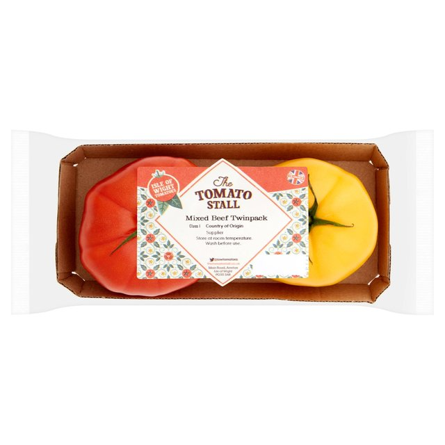 Isle of Wight Mixed Beef Tomatoes Twinpack
