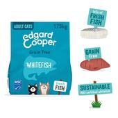 Edgard & Cooper Adult Grain Free Dry Cat Food with Fresh Whitefish