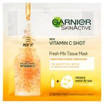 Garnier SkinActive Fresh-Mix Glow Sheet Mask with Vitamin C