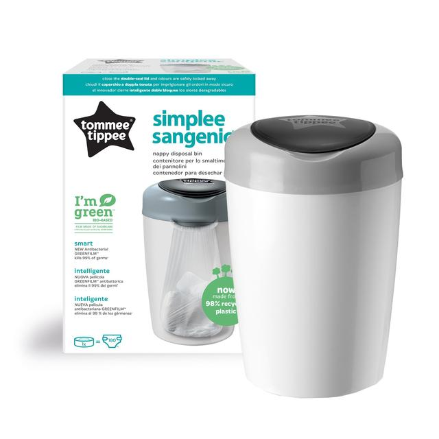 Tommee Tippee simplee Sangenic cassettes de recharge 18/Pack