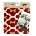 Tall Tails Fleece Red Bone Pet Blanket