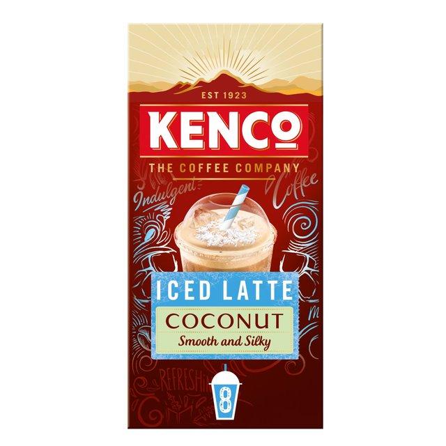 Kenco Iced Latte Coconut Instant Coffee Sachets Ocado