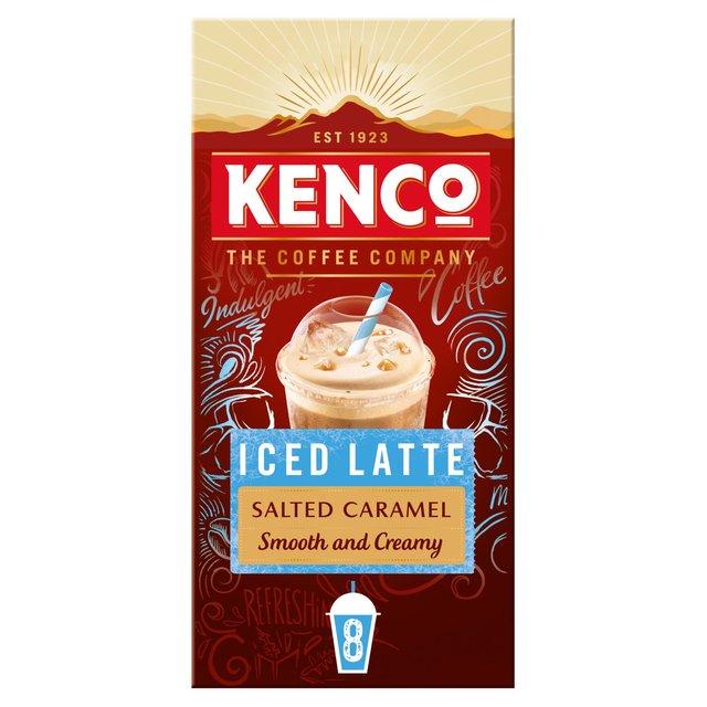 Kenco Iced Latte Salted Caramel Instant Coffee Sachets Ocado