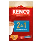 Kenco 2 in 1 Smooth White Instant Coffee Sachets