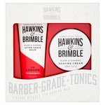 Hawkins & Brimble Grooming Gift Set - Shave Cream & Post Shave Balm)