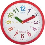 Acctim LuLu Time Teaching Clock, Red