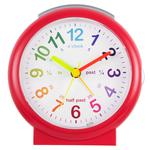 Acctim LuLu 2 Time Teaching Alarm Clock, Red
