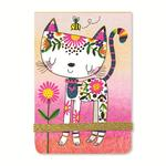 Rachel Ellen Designs Cat Notepad, A7