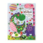 Rachel Ellen Designs Rawr-some Set Dinosaurs Writing Set Wallet