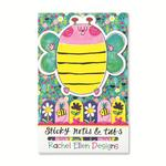 Rachel Ellen Designs Bee Sticky Notes & Tabs
