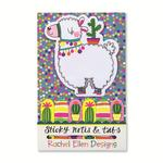 Rachel Ellen Designs Llama Sticky Notes &Tabs