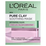 L'Oreal Paris Pure Clay Lilac Face Mask