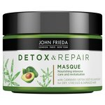 John Frieda Detox & Repair Hair Masque for Dry, Stressed & Damaged Hair
