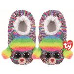 Ty Rainbow Sequin Slippers, Large