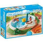 Playmobil 9422 Swimming Pool with Functioning Shower and Floating Raft