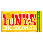 Tony's Chocolonely Milk Chocolate 32% Almond Honey Nougat