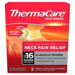 Thermacare Upper Back, Neck, Shoulder & Wrist Heat Wraps