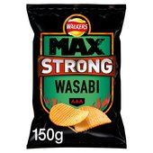 Walkers Max Strong Wasabi Crisps