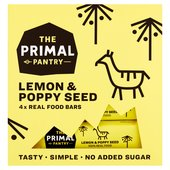 The Primal Pantry Lemon & Poppyseed Multipack