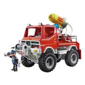 Playmobil 9466 City Action Fire Truck with Cable Winch and Foam Cannon