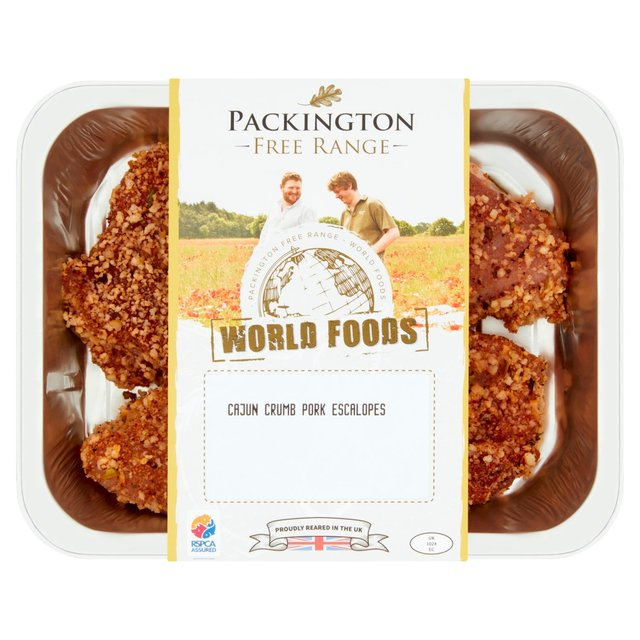 Packington Free Range Pork Cajun Escalope