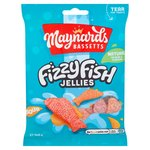 Maynards Bassetts Fizzy Fish Sweets Bag