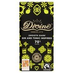 Divine 70% Dark Chocolate with Juniper & Lemon