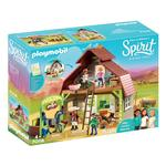 DreamWorks Spirit 70118 Barn with Lucky, Pru and Abigail by PLAYMOBIL