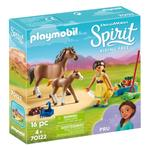 DreamWorks Spirit 70122 Pru with Horse and Foal by PLAYMOBIL