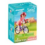 DreamWorks Spirit 70124 Maricela with Bicycle by PLAYMOBIL