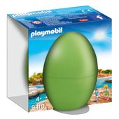 Playmobil 9418 Zookeeper with Seal Pups Gift Egg