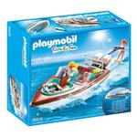 Playmobil 9428 Family Fun Floating Speedboat with Underwater Motor