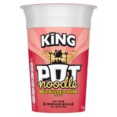 Pot Noodle King BBQ Pulled Pork