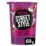 Pot Noodle Asian Street Style Red Curry