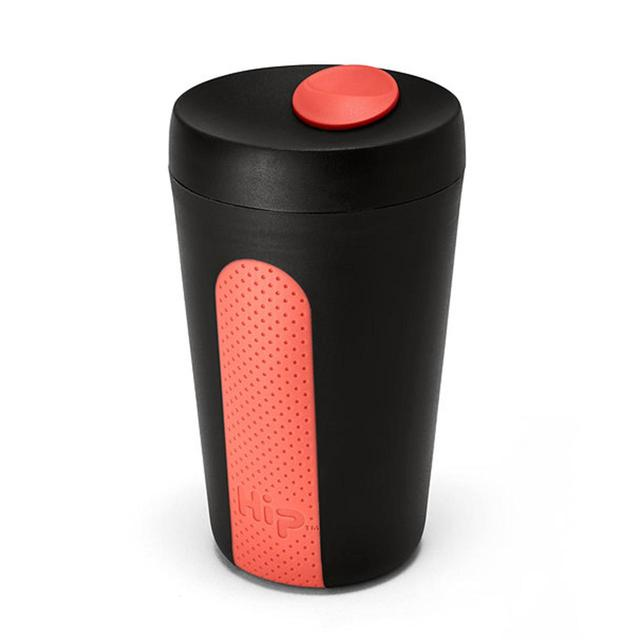 Hip Travel Cup 12oz, Midnight/Coral