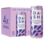 Dash Water x4 Multipack Blackcurrant