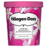 Haagen Dazs Ltd Edition Jasmine, Raspberry & Pomegranate Ice Cream