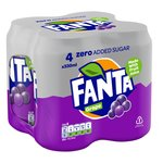 Fanta Zero Grape