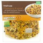 Waitrose Mixed Pulses, Brown Rice & Cauliflower