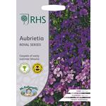 Johnsons Seeds - RHS Aubrieta Royal Series