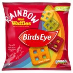 Birds Eye Rainbow Mini Waffles Frozen