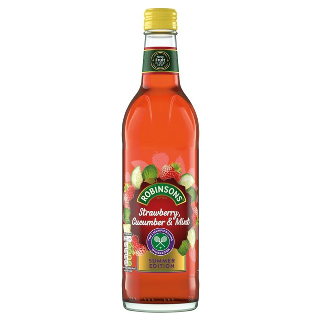 Robinsons Fruit Cordials Strawberry Cucumber & Mint Limited Edition