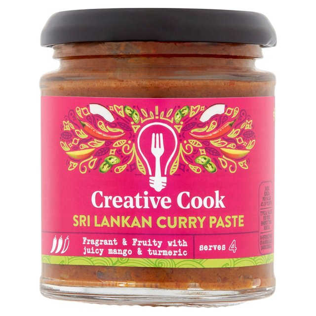 Creative Cook Sri Lankan Curry Paste Ocado