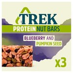Trek Protein Nut Bar Multipack Blueberry & Pumpkin Seed
