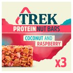 Trek Protein Nut Bar Multipack Coconut & Raspberry