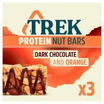 TREK Protein Nut Bar Dark Chocolate & Orange Multipack